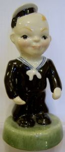 Carlton Ware Kids - Sailor Figure - Numbered edition 114/5000